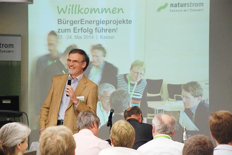 Dr. Thomas Banning, Vorstandsvorsitzender Naturstrom AG